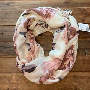 Floral scarf - wrap